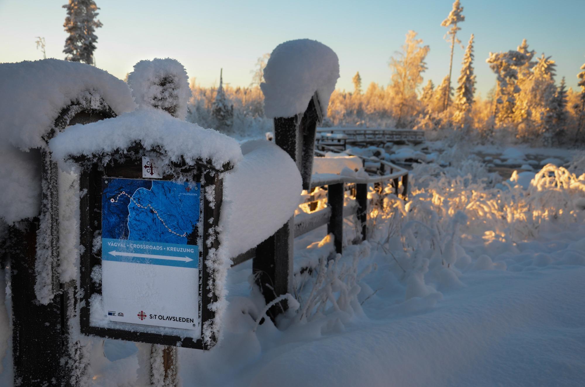 Bästa flugfiskevatten vinter Gimån Jämtland Sverige (10)